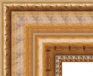 I867 Antique Gold Frame with Beaded Lip