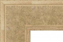 "EC568 Large Textured Ivory Frame 4-1/2"" Wide"