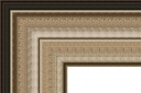 "T7208 Antique Silver Rustic Frame 3-3/4"" Wide"