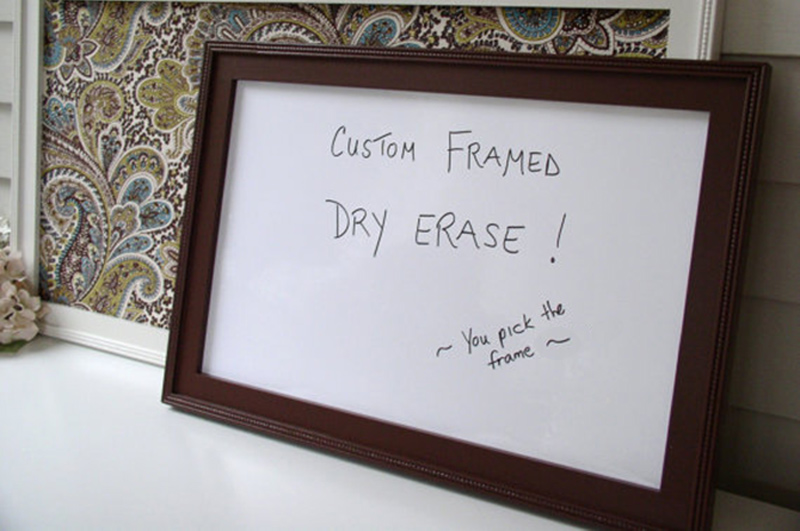 22 By 28 Frame White: Custom Framed Whiteboards