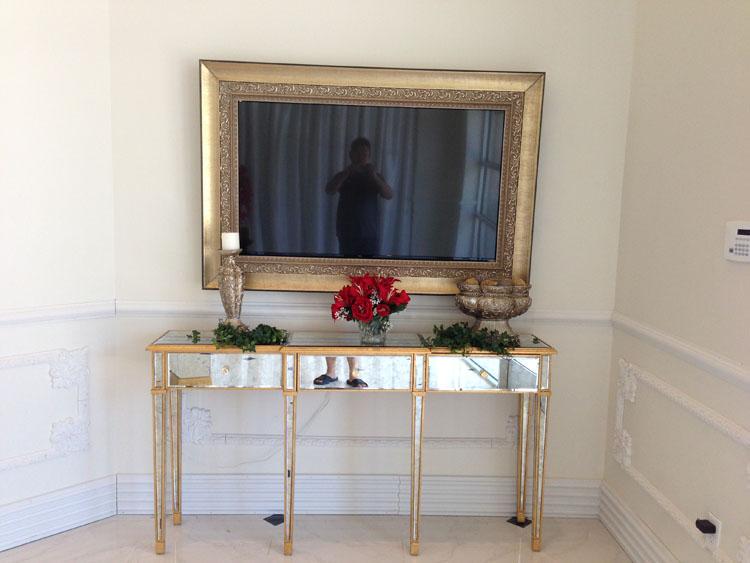 Custom Framed TVs