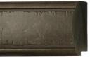 "EC566 Large Textured Charcoal Frame 4-1/2"" Wide"