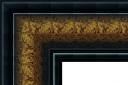 "EC723 Bronze Frame with Black Trim 4-1/4"" Wide"