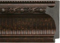 "EC727 Bronze Ribbed Scoop Frame 4-3/8"" Wide"