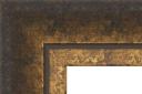 """EC763 Contemporary Gold Slant Frame 2"""" Wide"""