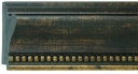 "EC780 Bronze Frame with Beaded Lip 4-1/4"" Wide"